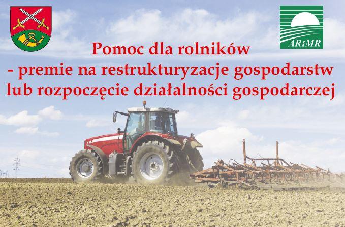 Pomoc dla rolników – premie na restrukturyzacje lub rozpoczęcie działalności gospodarczej - zdjęcie główne