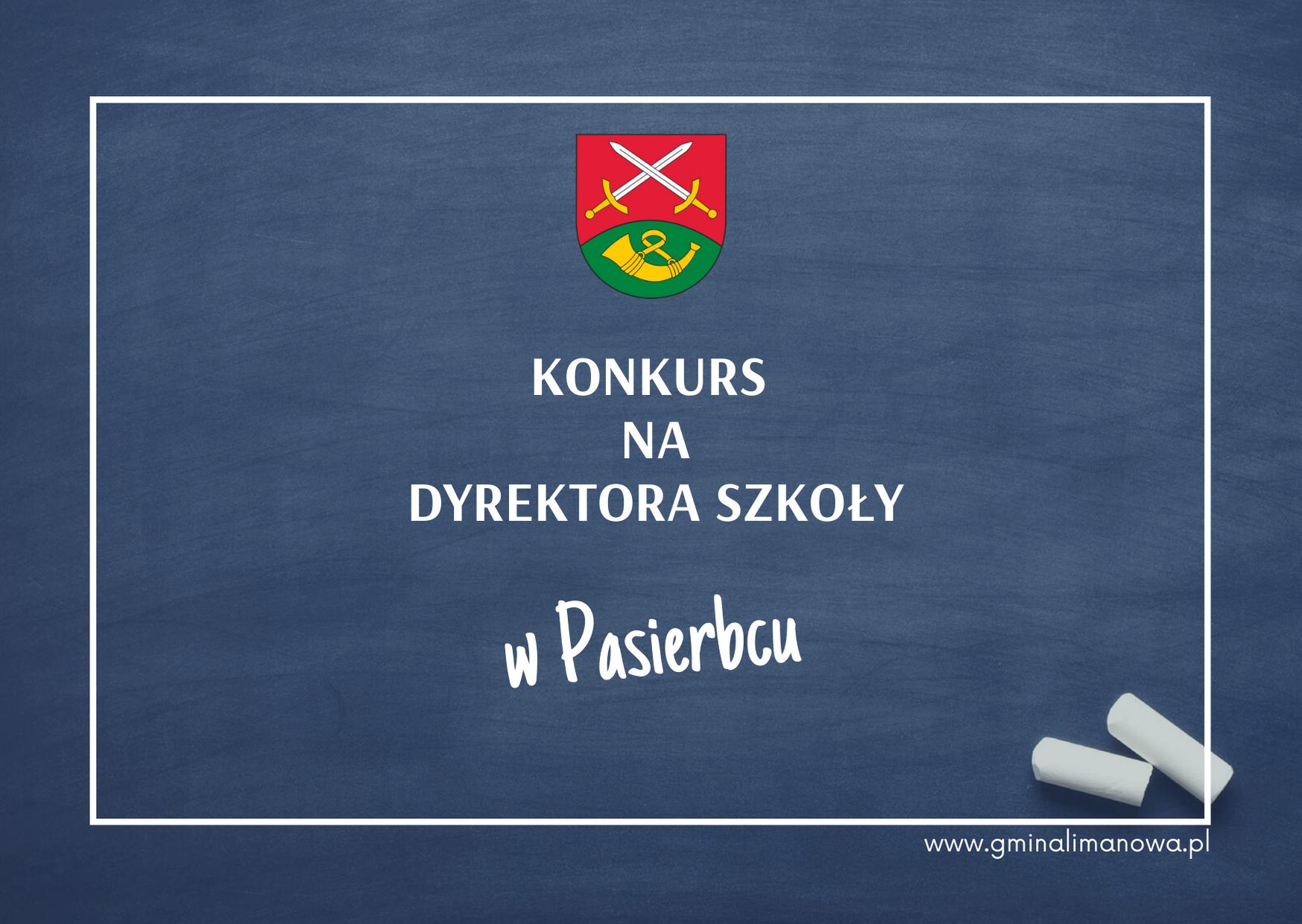 Ogłoszenie o konkursie na dyrektora Szkoły Podstawowej w Pasierbcu - zdjęcie główne