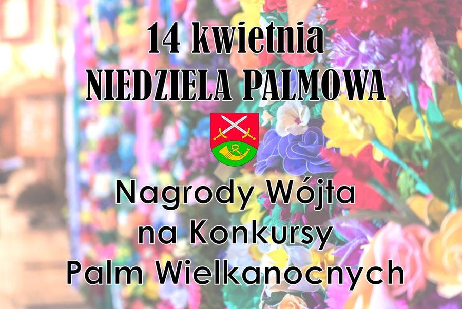 14 kwietnia - konkursy palm wielkanocnych - zdjęcie główne