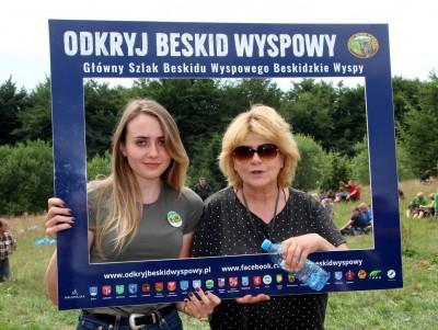 Spotkanie turystów na Sałaszu -  Odkryj Beskid Wyspowy 2019 - Galeria zdjęć - IMG_2036 (Kopiowanie).JPG