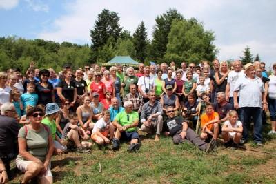 Spotkanie turystów na Sałaszu -  Odkryj Beskid Wyspowy 2019 - Galeria zdjęć - IMG_2178 (Kopiowanie).JPG
