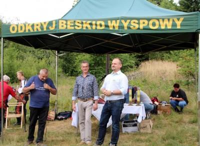 Spotkanie turystów na Sałaszu -  Odkryj Beskid Wyspowy 2019 - Galeria zdjęć - IMG_2064 (Kopiowanie).JPG