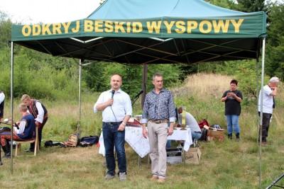 Spotkanie turystów na Sałaszu -  Odkryj Beskid Wyspowy 2019 - Galeria zdjęć - IMG_2070 (Kopiowanie).JPG