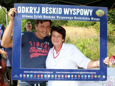 Spotkanie turystów na Sałaszu -  Odkryj Beskid Wyspowy 2019 - Galeria zdjęć - IMG_2244 (Kopiowanie).JPG