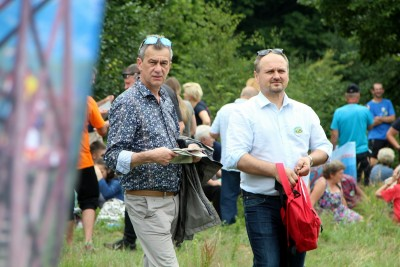 Spotkanie turystów na Sałaszu -  Odkryj Beskid Wyspowy 2019 - Galeria zdjęć - IMG_2006 (Kopiowanie).JPG