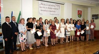 Nagrody dla uczniów, podziękowania dla nauczycieli na uroczystym  podsumowaniu roku szkolnego - Galeria zdjęć - IMG_0554 (Kopiowanie).JPG