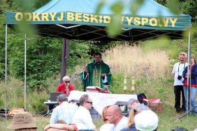 Spotkanie turystów na Sałaszu -  Odkryj Beskid Wyspowy 2019 - Galeria zdjęć - IMG_2130 (Kopiowanie).JPG