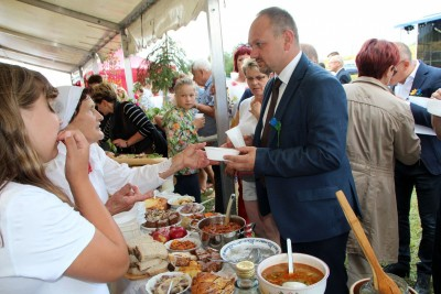 Gminny Przegląd Kół Gospodyń Wiejskich cz.1 połączony z Festiwalem