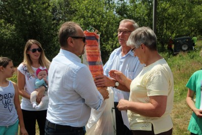 Spotkanie turystów na Sałaszu -  Odkryj Beskid Wyspowy 2019 - Galeria zdjęć - IMG_2354 (Kopiowanie).JPG